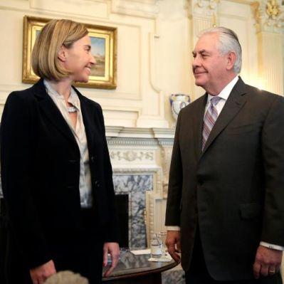 Federica Mogherini Rex Tillerson Usa Ue Donald Trump Iran Tehran Teheran I pars Ipars I-pars