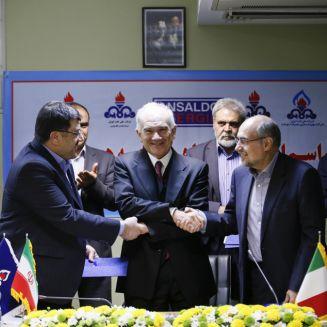Ansaldo energia South Pars Giacimento Oil and Gas Iran Italia Tehran Teheran I-pars I pars Ipars