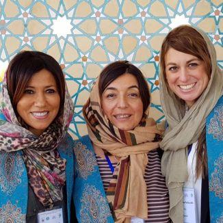 Fouzia Mecheri Micaela Piccoli Francesca Pecchini Donne italiane modenesi chirurgo Congresso Chirurgia Medio Oriente Iran Isfahan I-pars Ipars I pars