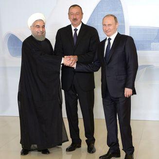Russia Iran Azerbaijan Putin Rohani Rouhani Aliyev Teheran Tehran I-Pars Ipars I pars