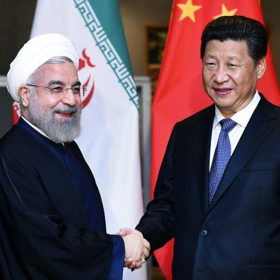 Cina China Iran Pechino Tehran Teheran One Belt One Road OBOR Via della seta Xi Jinping Rohani Rouhani I-Pars Ipars I Pars