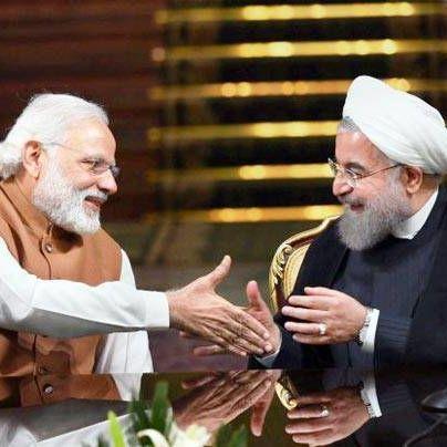 India Modi Iran Rohani porto Chabahar