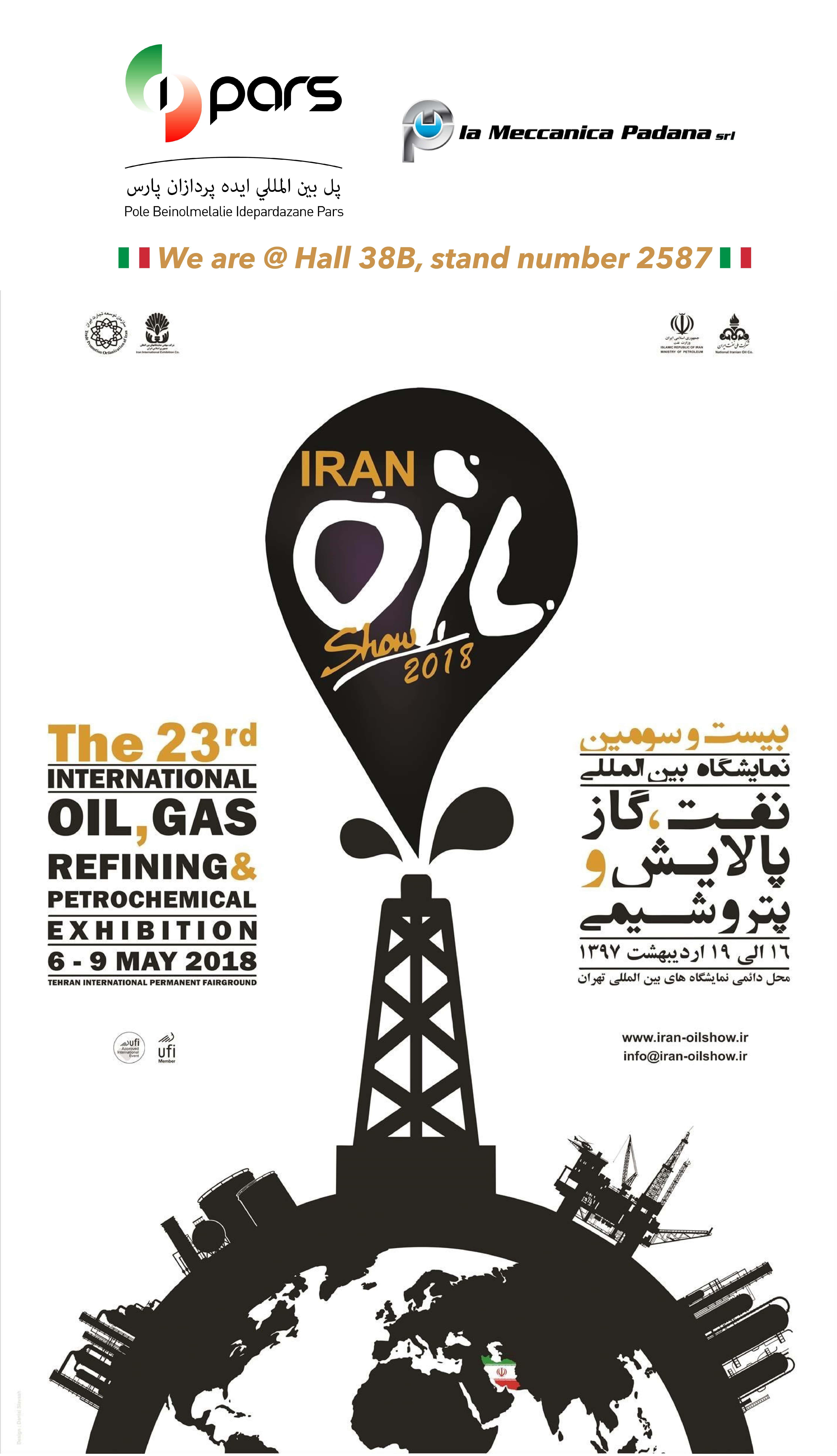 Iran Oil Show I-Pars La Meccanica Padana