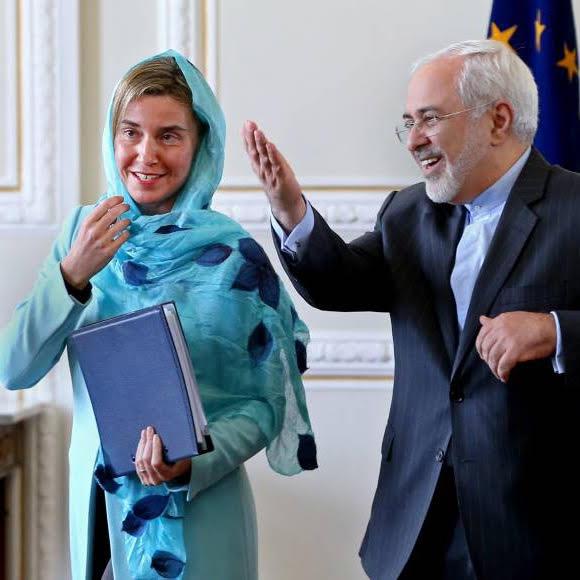 UE Federica Mogherini Unione Europea Cina Russia Iran Trump Usa Accordo nucleare Rouhani Rohani I-Pars Ipars I pars Confindustria Italia