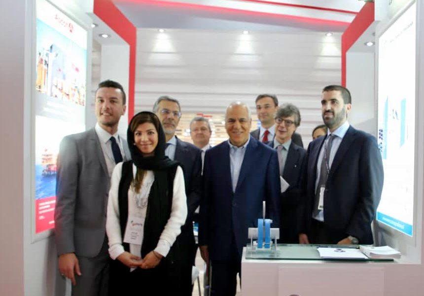Iran Oil Show Tehran Teheran Italia ICE La Meccanica Padana I-Pars Ipars I Pars Oil&Gas