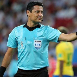 Mondiali 2018 Arbitro iraniano Alireza Faghani Russia Inghilterra Belgio Iran I-pars Ipars I pars