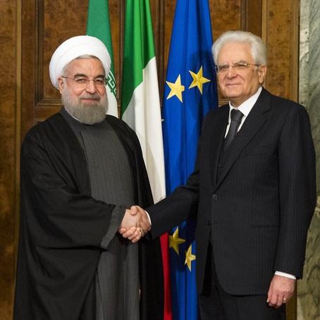 Sanzioni Usa esenzione Italia Petrolio Mattarella Rohani Trump Rouhani Iran I-Pars I pars Ipars