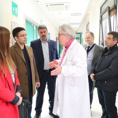 Delegazione iraniana Sanità Italia Bologna Rizzoli Montecatone Iran I-Pars I Pars Ipars Parnia Amani Andrea Zucchini