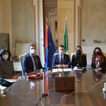 Imola Ardakan gemellaggio Italia Iran sviluppo economico Andrea Zucchini Parnia Amani Marco Panieri Comune Elena Penazzi